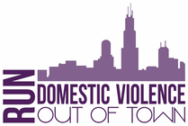 Run Domestic Violence Out of Town banner