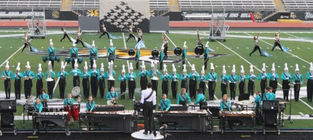 """West Johnston Wildcat Marching Band """"Two Weeks of Marching Madness"""" banner"""