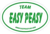 Team Easy Peasy-Run for the Swag banner