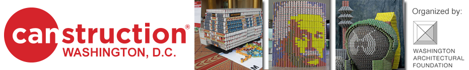Canstruction DC 2014 banner