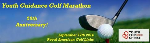 Youth Guidance Golf Marathon 2014 banner