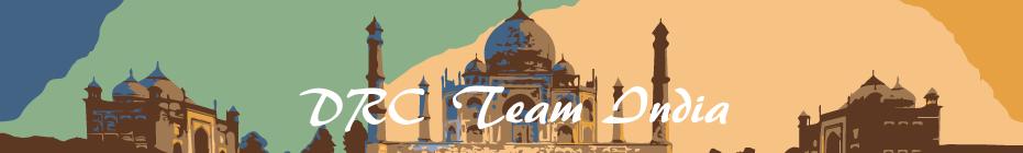 DRC India Team banner