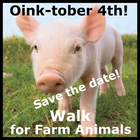 GMAD Walk for Farmed Animals banner