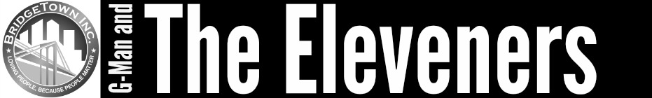 G Man and The Eleveners banner
