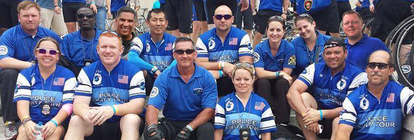 Team St. Pete - Police Memorial Riding Team banner