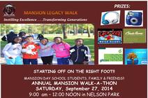 2014 Mansion Legacy Walk banner