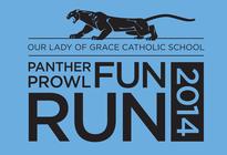 Panther Prowl Fun Run 2014 banner