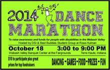 2014 Dance Marathon banner