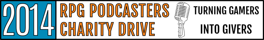 2014 RPG Podcasters' Charity Drive banner