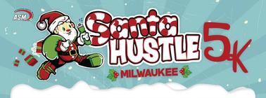 2014 Milwaukee Santa Hustle 5K Fundraising Team banner