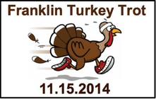 Franklin Elementary Turkey Trot - 2014 banner