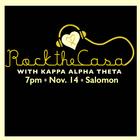 Kappa Alpha Theta Rock the CASA banner