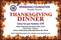 Thanksgiving Lunch banner