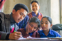 Teach For Nepal - Trek For Teach - Everest Base Camp banner