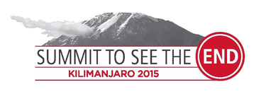Summit to See the END: Kilimanjaro 2015 banner