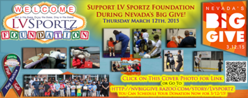 LVSF Positive and Safe Sports Fundraising Team banner