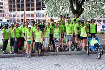 Team Footsteps Buffalo Marathon of Hope 2015 banner
