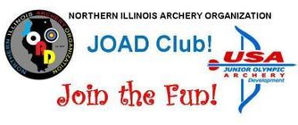 Northern Illinois Archery Organization JOAD banner