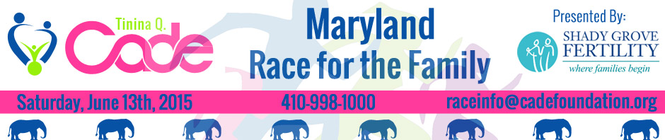 2015 Maryland Race for the Family banner