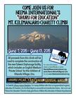 Neema International's Uhuru for Education Mt. Kilimanjaro Charity Climb banner