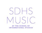 SDHS Drumline banner