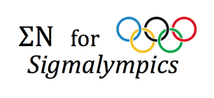 Sigma Nu for Sigmalympics 2015 banner