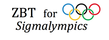 Zeta Beta Tau for Sigmalympics 2015 banner