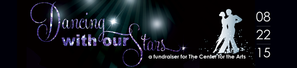 3rd Annual Dancing with our Stars banner