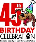 HSSBV 45th Birthday Celebration- Walk n Wags banner