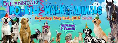 Ruff Start Rescue 5th Annual No Kill Walk banner