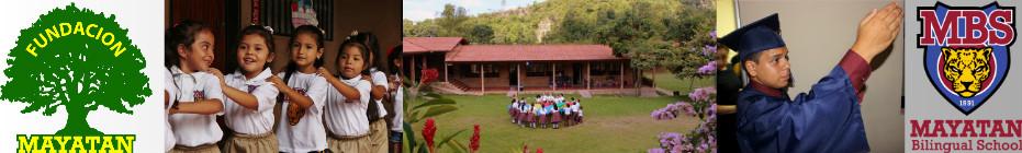 Mayatan Bilingual School banner