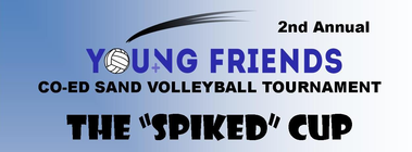 Young Friends Co-ed Sand Volleyball Tournament banner