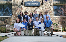 Gordon College Rowing Team banner