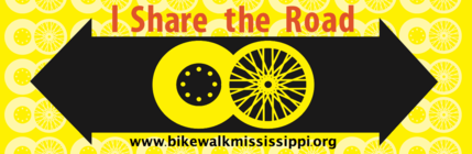Help us raise money for bicycle safety PSA's in MS! banner