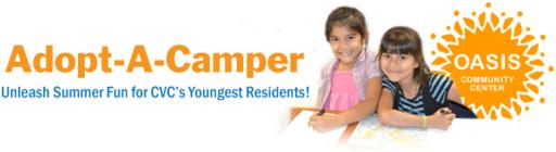 CVC ADOPTS-A-CAMPER banner