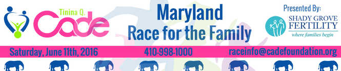 2016 Maryland Race for the Family banner
