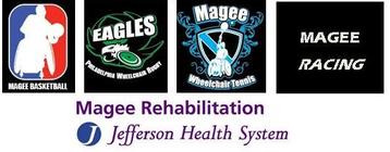 Conrad O'Brien for Magee Wheelchair Sports banner
