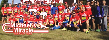 Michael's Miracle Team/Dan Roy banner