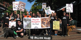 2015 Walk for Farmed Animals banner