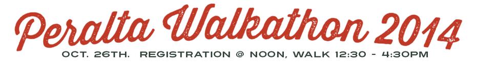 Peralta 2015 Walkathon banner
