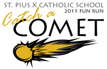 Catch a Comet Fun Run banner