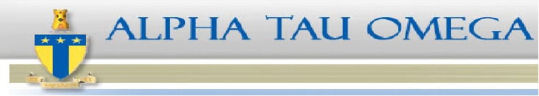 Alpha Tau Omega banner
