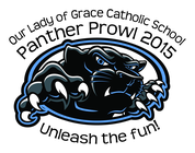 2015 Panther Prowl Fun Run banner
