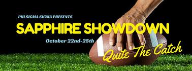 Phi Sigma Sigma for Sapphire Showdown 2015 banner