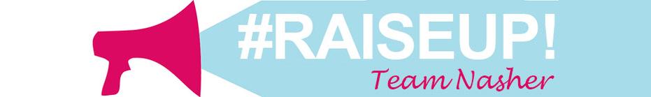 Team #SadieNashRaisedUs banner