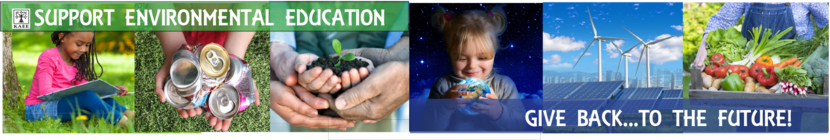 Give Back to the Future of Environmental Education! banner