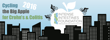 Team #WeWillBeatIBD: Cycling the Big Apple for Crohn's & Colitis 2016 banner