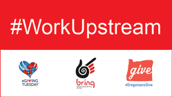 #WorkUpstream Crowdfunding Team banner