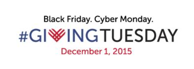 #GivingTuesday 2015 banner