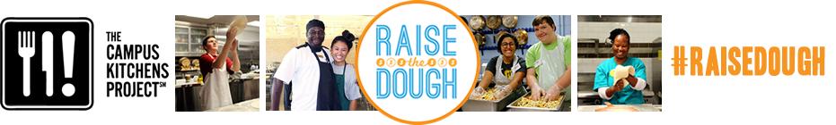 Raise the Dough Challenge 2016 banner
